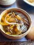 5分で簡単!もずくのサンラータン風スープ