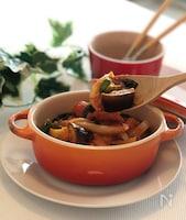 【作り置き】野菜たっぷり!簡単すぎるラタトゥイユ