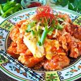 【やみつき鶏チリ】鶏むね肉とふわふわ卵の優しいチリソース