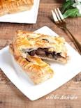 黒豆とりんごのパイ