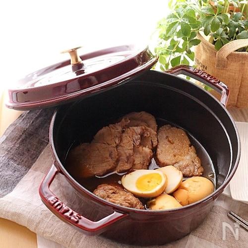 じっくりしみしみ♡豚肉の梅酒煮