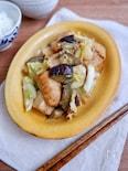 ボリューム満点!厚揚げと茄子のスタミナ味噌炒め