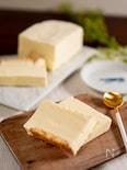 【材料4つ】天使の口どけ!レアチーズアイスケーキ 牛乳パック