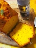 魔法のかぼちゃの馬車パウンドケーキ♪
