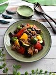 ちょこっと和風な夏野菜の麻婆風