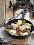 白菜と牛肉のカマンベール焼き