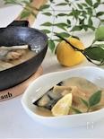 白味噌で鯖の味噌煮
