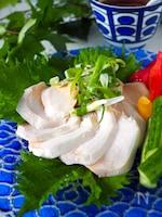 【レンジだけ】鶏むね肉でしっとりサラダチキン#冷凍可能