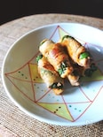 大葉キムチの豚肉巻き