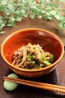 レンジで簡単!青椒肉絲 お弁当、小鉢用