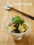 【夏レシピ】水茄子の梅和え