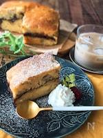 『グルテンフリー♡』バナナとチョコの米粉ケーキ