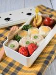 くるくるサンドイッチ弁当【幼児弁当】
