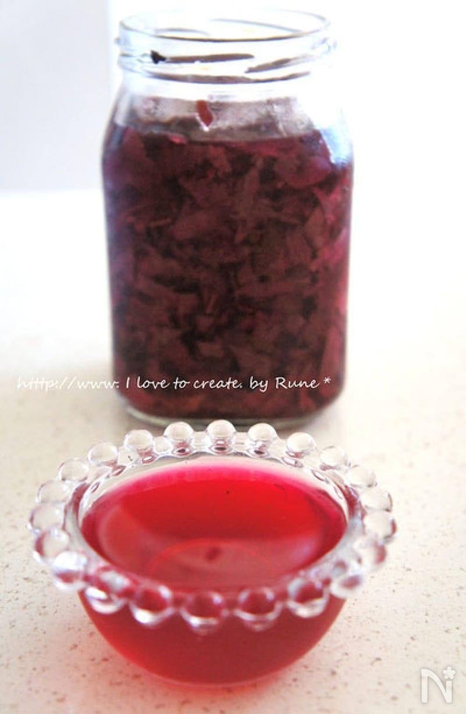 赤紫蘇のノンオイルドレッシング