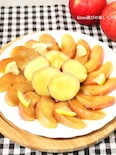 定番にコクと風味をアップ♪リンゴとさつま芋の甘煮