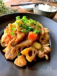 〝鶏モモと根菜の味噌照り〟時短ボリュームおかず