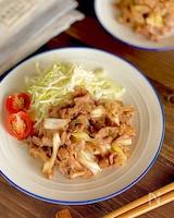 タレが美味しい!レンジで生姜焼き