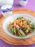 ピーマンとポテトの海苔醤油炒め§今日の野菜はこれで完璧!