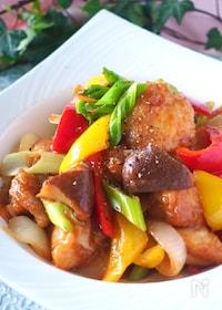 『揚げない!タレまで美味しいむね肉の酢鶏#作り置き・お弁当』