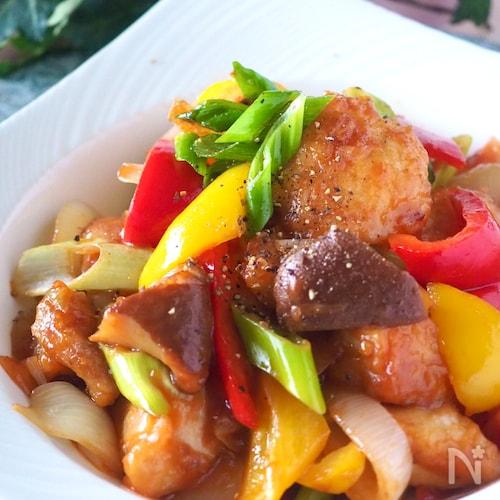 揚げない!タレまで美味しいむね肉の酢鶏#作り置き・お弁当