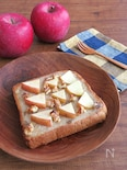りんごとくるみのハニートースト♪