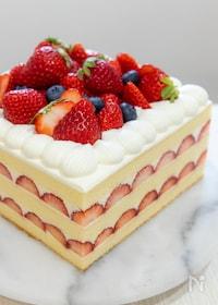 『いちごレアチーズケーキ』