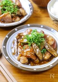 『メイン食材2つ♡ご飯に合う!『甘辛鶏ごぼう』』