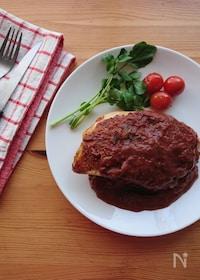 『鶏むね肉のソテー*簡単カカオデミソース*』