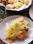 天ぷら粉で簡単美味しい♡海老と玉ねぎのサクサクかき揚げ