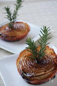 前菜・付け合せに♪甘くて香ばしい皮ごと玉ねぎのカラメルグリル