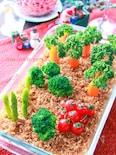 クリスマスにも♪野菜畑のポテトサラダ