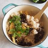 【#10五香粉】筍と牛肉の簡単スパイス炊き込みご飯