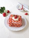 韓国カフェ風 いちごケーキ【苺サンド】