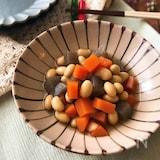 『めんつゆで簡単♡』五目豆の煮もの