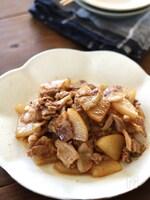フライパンで作る 豚バラ大根