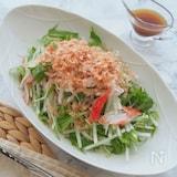 大根と水菜のサラダ ~さっぱりポン酢ドレッシング~