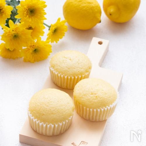 【簡単おやつ】フライパンで簡単!はちみつレモン蒸しパン