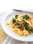 ふんわり卵と野菜のオイスターソース炒め