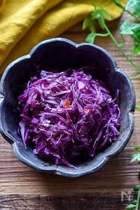 抱えて食べたい♡紫キャベツのスイチリマリネ【作り置き】