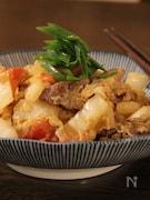 豚肉と白菜とトマトの中華炒め