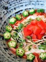冷たい麺レシピ☆トマトそうめん☆