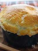 クリームシチューのパイ包み