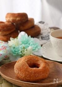 『ふんわりもっちり♡こども喜ぶきな粉ドーナッツ【HB使用】』
