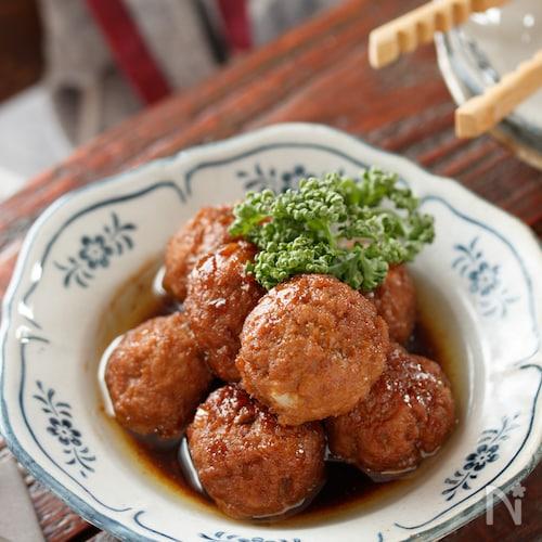 ふわふわ♡甘酢肉団子【#作り置き#冷凍保存#お弁当】