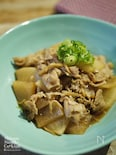 ごはんがススム|無限生姜|簡単|【豚肉と大根の甘辛生姜煮】