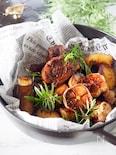 【フライパンで簡単】☆豚スペアリブのガーリック焼き☆