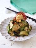 茄子と胡瓜のうまみ生姜和え【簡単・火を使わない・作り置き】