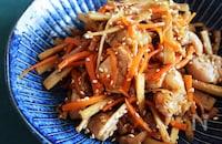 \鶏ごぼうのきんぴら/ご飯に合うお惣菜♪