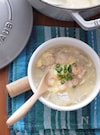 冬瓜と海老のかき玉スープ