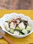きゅうりと長芋の韓国風サラダ【作り置き】